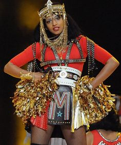 M.I.A. (I heard that these costumes were apparently part of the whole illuminati thing, LOL)
