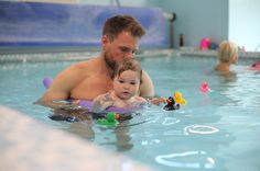 As a Konfidence Swimologist, Phoebe has been enjoying swimming lessons with Aqua Babies. Swim Lessons, Tub, Swimming, Outdoor Decor, Swim, Bath Tub, Bathtubs, Bathtub
