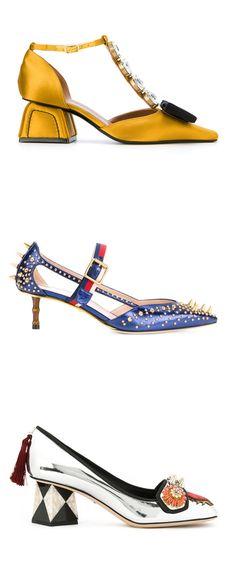 Explore new season shoes on Farfetch now.