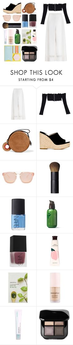 """6.041"" by katrinattack ❤ liked on Polyvore featuring Zimmermann, Carven, Paloma Barceló, NARS Cosmetics, Innisfree, festival, festivalfashion, festivaloutfit and polyvorefashion"