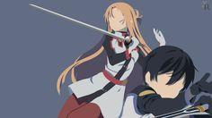 Kirito x Asuna | Sword Art Online: Ordinal Scale by XRedisX