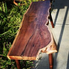 Custom Bench From The Raw Collection by TheTimberLibrary on Etsy, $450.00 SOLD