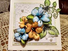 Papierowo zakręcona    : Kwiaty Heartfelt Creations