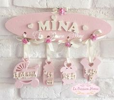 Baby Crafts, Fun Crafts, Diy And Crafts, Baby Shawer, Baby Love, Baby Frame, Clay Ornaments, Baby Room Decor, Box Frames