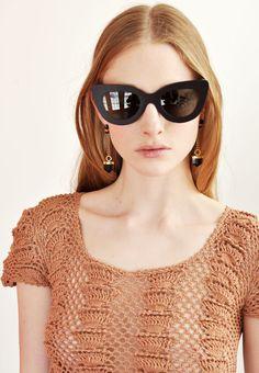 Dusen Dusen Black Triangle Sunglasses