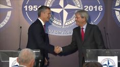 Joint Press Conference by NATO SG & Italy MFA Minister