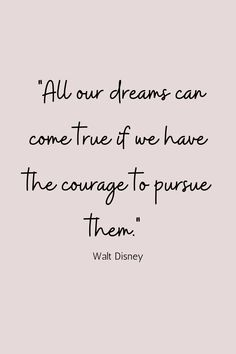 Love this quote by Walt Disney about dreams coming true. I hope you are chasing yours! Chasing Dreams Quotes, Chase Your Dreams Quotes, Dreams Come True Quotes, Fight For Your Dreams, Monday Quotes, Mom Quotes, Life Quotes, Qoutes, Dream Of You Quotes