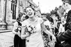 Helen & Stuart - Cambridge Wedding Photography. Confetti outside the Church. Cambridge, Confetti, Saints, Wedding Photography, Couple Photos, Couples, Beautiful, Couple Shots, Couple Photography