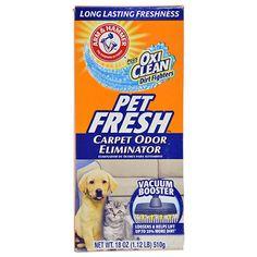 Arm & Hammer Pet Fresh Carpet Odor Eliminator, 18-oz. Boxes