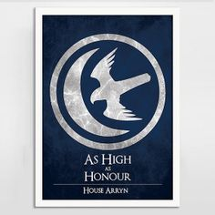 Game of Thrones Art Print Poster - House Arryn