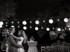 Black and white wedding reception, hanging lights  #bride #groom #Arkansaswedding #NWA #photographer www.billibilli.com Summer Wedding, Wedding Reception, Southern Weddings, Hanging Lights, Arkansas, Bride Groom, Black And White, Photography, Marriage Reception