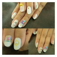 ⏫⏫➕Thats Hularious➕ ⏫⏫ #modernart #whitenail #modernstyle #gelart #gelnail #nail #nailswag #nails2inspire #nailart #nailartdesign #nailartlover #nailstagram #nailsfashion #nailsclub #nailsbyhelencawaii #nailsdesign #ネイルアート  #ネイル #ゲルアート #ジェルネイル