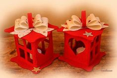 Como hacer faroles decorativos con fieltro o foamy Felt Crafts, Diy And Crafts, Paper Crafts, Diy Cadeau Noel, Felt Sheets, Felt Toys, Xmas, Christmas, Homemade Gifts
