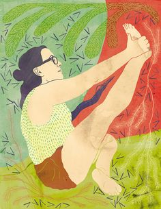 Illustration de yoga, Print posture yoga, Héron posture affiche  Poster yoga pose, Yoga pose illustration, Yoga art