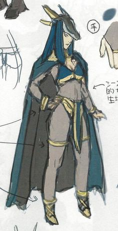 Fire Emblem: Awakening Concepts - Dark Mage