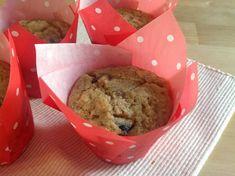 Spelt muffin with dried plums / Špaldové muffiny se sušenými švestkami Dried Plums, Cheesecake, Ice Cream, Cupcakes, Baking, Desserts, No Churn Ice Cream, Tailgate Desserts, Cupcake Cakes