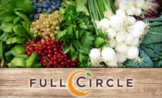 Full Circle Organic Produce Delivered to your doorstep