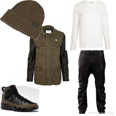 Olive kind of day | Men's Outfit | ASOS Fashion Finder