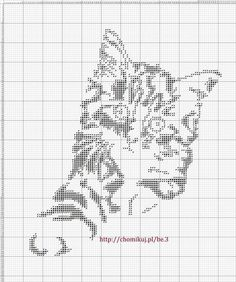 ru / Photo # 77 - Rare and beautiful circuits - Olgakam Cat Cross Stitches, Hand Embroidery Stitches, Cross Stitch Charts, Cross Stitching, Cross Stitch Patterns, Easy Crochet Patterns, Knitting Patterns, Pixel Art Grid, C2c