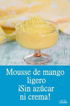 Mango Mousse Cake, New Recipes, Healthy Recipes, Mango Ice Cream, Light Desserts, Chicken Salad Recipes, Nutrition, Sin Gluten, Sugar Free