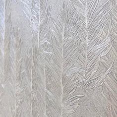 M U R A S P E C | Mesmeric fabric back feathered vinyl wallcovering that has recently been installed on latest hotel project. Frond. A new design for the Nature-inspired Astoria collection •