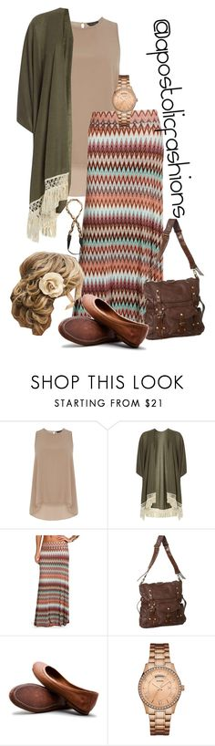 """""""Apostolic Fashions #1602"""" by apostolicfashions ❤ liked on Polyvore featuring Dorothy Perkins, Frye, GUESS, Jules Smith, modestlykay and modestlywhit"""