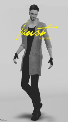 Sims 4 CC's - The Best: Jacket for Males by Azentase