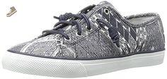 Sperry Top-Sider Women's Seacoast Native Geo Fashion Sneaker, Blue, 8.5 M US - Sperry sneakers for women (*Amazon Partner-Link)