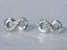 5f0efbbdc ... best pandora infinity love earrings delicate cz by jewelselagant a4ca9  a59f6