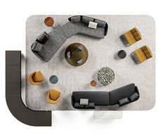 LAWSON 01 Sofa Layout, Furniture Layout, Furniture Plans, Furniture Design, Small Lounge, Lounge Areas, Living Room Flooring, Living Room Decor, Style Haute Couture