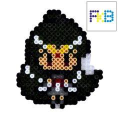 Handmade Sailor Pluto brooch or magnet 5€ #FrikiBeads #hamabeads #brooch #magnet…