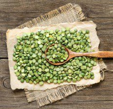 Raw dried Split Peas