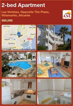 2-bed Apartment in Las Violetas, Opposite The Plaza, Villamartin, Alicante ►€85,000 #PropertyForSaleInSpain