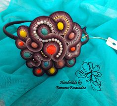 აბადოკი Brooch, Handmade, Fashion, Head Bands, Hand Made, Moda, Fashion Styles, Craft, Fashion Illustrations