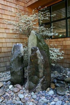 Urban Garden Design 55 Beautiful Rock Garden Ideas for Backyard and Front Yard Landscaping With Rocks, Front Yard Landscaping, Landscaping Ideas, Backyard Ideas, Luxury Landscaping, Landscaping Melbourne, Sloped Backyard, Mulch Landscaping, Landscaping Company