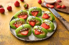 These healthy Halloween treats are simple enough for anyone to conquer. All it takes is a little creativity, a whole lot of imagination, and a BIG appetite.