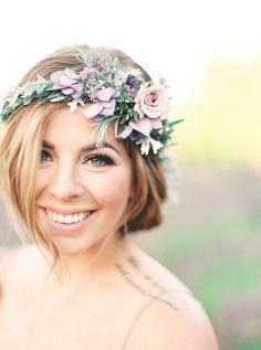 makeup Wedding Inspiration - Style Me Pretty