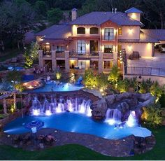 This is what my dream home would look like.  In the future I hope to become a successful real estate agent and sell huge houses like this.