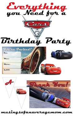 Cars 3 Party