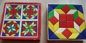 houten mozaiek