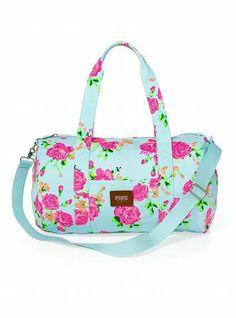 Victoria's Secret Mini Duffle Bag on Wanelo