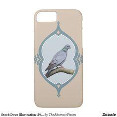Stock Dove Illustration iPhone 7 Case. iPhone 7 Case