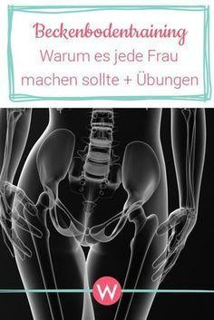 Beckenbodentraining lässt sich leicht in den Alltag integrieren. Warum diese Übungen jede Frau kennen und machen sollte. #gesundheit #übungen #frauen