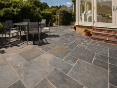 AUTUMN RUSTIC | Natural Slate Stone Tiles U0026 Paving Slabs | Pinterest | Patio  Slabs, Paving Stones And Slate Paving