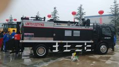 Multifunctional pavement integrated maintenance vehicle,Car-mounted pavement integrated maintenance car