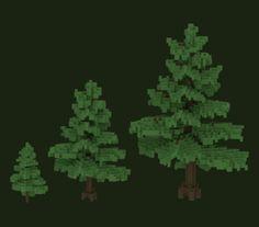 "Matt Olickさんのツイート: ""#3d #voxel #tree #environmentart I made for #voxelnauts #mmorpg #sandbox #minecraft #trees #indiedev #gamedev #indie http://t.co/eSKK4eWp9g"""