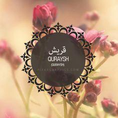 Quraysh Surah graphics
