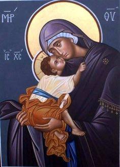 La virgen con El Niño Jesús