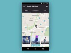 Android map interaction by Iñigo Hernández Muguruza