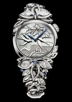 Audemars piguet reveals the new Haute Joaillerie 2013 watch - Presentwatch.com